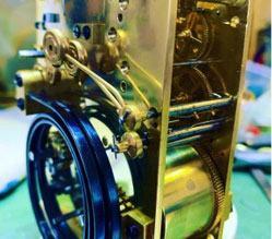 golden carriage clock repair