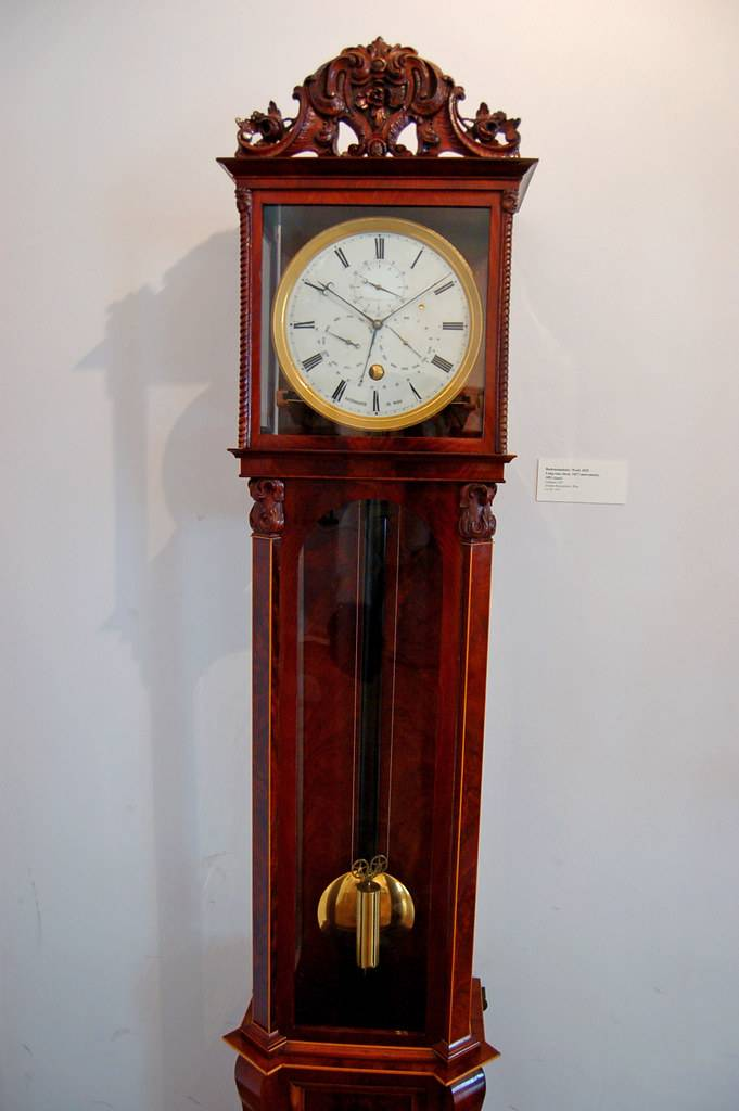 grandfather antique clock 2