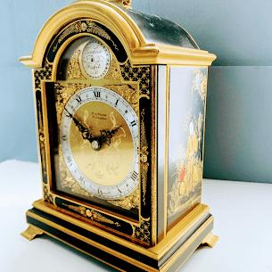 chinoiserie mantel clock for swansea repair
