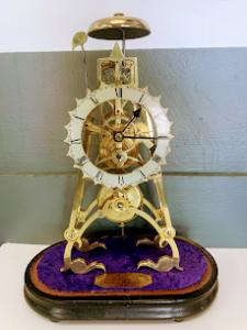 beautiful skeleton clock swansea