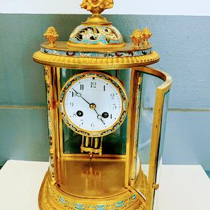 golden carriage clock