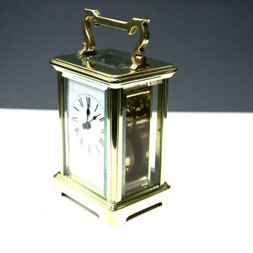 carriage clock golden
